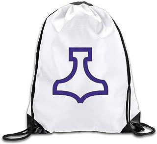 HAMMER OF THOR Sports Drawstring Backpack For Men & Women