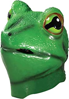 Forum Novelties Men's Deluxe Latex Frog Mask