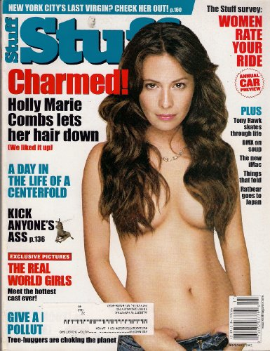 HOLLY MARIE CHARMED STUFF NOVEMBER 2002 TONY HAWK DMX THE REAL WORLD GIRLS AND MORE!