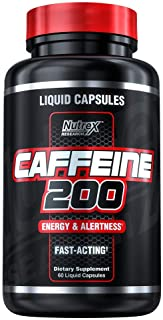Nutrex Research Caffeine Pills 200 mg   Smooth Energy & Focus - Focused Energy for Your Mind & Body - No Crash - No Jitter...