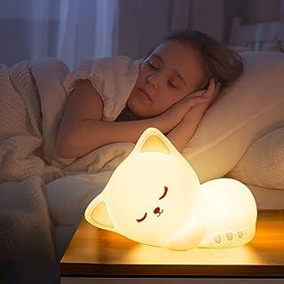 Cute Kitty Kids Night Light, Cat Kawaii Birthday Gifts...