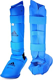 adidas WKF Shin and Instep Blue (Medium)