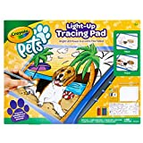 Crayola Light Up Tracing Pad, Pet Pictures, Gift for Pet Lovers, Kids & Adults, Multi