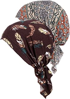 Women's Comfort Head Scarf Turban Headwear Chemo Beanie Scarves Coverings