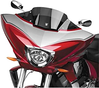 2010 Victory Cross Country VStream Windshield - 08.25in./Dark Tint - FMR Coated, Manufacturer: National Cycle, VSTRM FMR DK.TINT SPT XCTRY