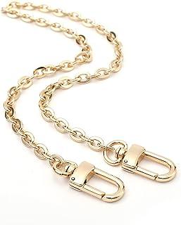 Mini Copper Purse Chain Shoulder Crossbody Strap Bag Accessories Charm Decoration (Gold, 18'')