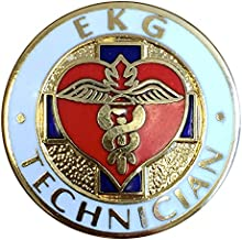 EMI EKG Technician Pin