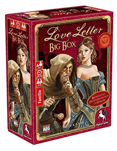 Pegasus Spiele 18214G - Love Letter Big Box