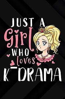 Ham Radio Log Book - Just A Girl Who Loves K-Drama Korean Movie Television Series Art: Amateur radio log book   Amateur Ra...