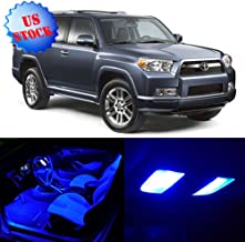 SCITOO LED Interior Lights 12pcs Blue Package Kit Accessories Replacement for 2002-2012 Toyota 4Runner