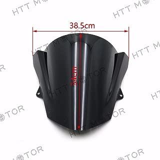 HTTMT CFP-1199-3/1124-3- PMMA Wind Shield Windscreen Compatible with Kawasaki Ninja ZX-10R 08-10 ZX-6R ZX6R 2009-2014
