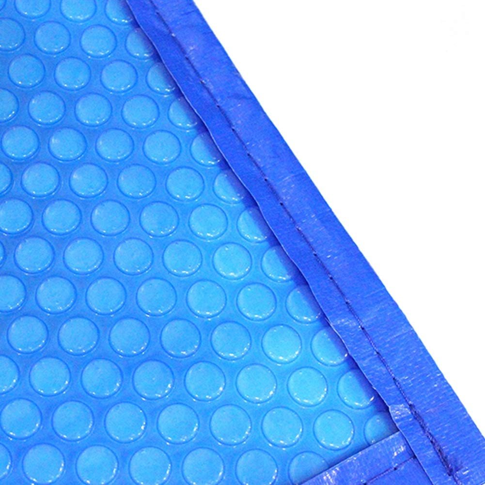 YXX-Lonas Azul Cubiertas hinchables de piscina de burbujas solares con borde encintado, Cubierta de protección UV para piscinas sobre el suelo, 400 G/M² (Size : 5×10m/16.4×32.8ft): Amazon.es: Bricolaje y herramientas