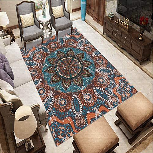 QWEASDZX Alfombra Moderna Hogar Sala De Estar Alfombra De Poliéster Dormitorio Alfombra Decorativa Sala De Estar Alfombra 40x60cm