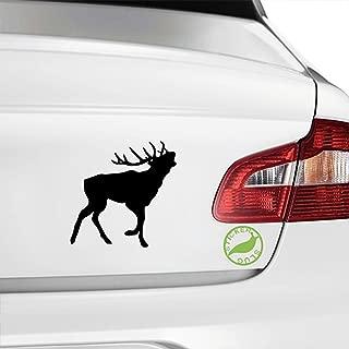 Wild Moose Decal Sticker (black, 5 inch)