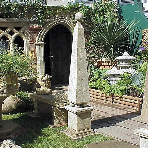 Gartentraum Obelisco di Pietra da Giardino Deco - Horus