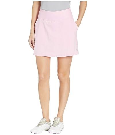 PUMA Golf PWRSHAPE Solid Knit Skirt (Pale Pink) Women