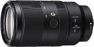 Sony SEL70350G - Objetivo de Montura E (Superteleobjetivo G F4.5-6.3 OSS con Rango de ampliación 5X, Motor Lineal de Baja vibración, SteadyShot óptico, Resistente al Polvo y Humedad)