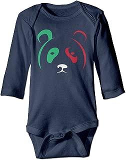 Lakers Metta World Peace Panda's Friend Baby Long Sleeve Romper Bodysuit
