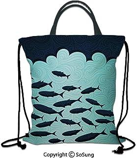 3d0c143819d9 Amazon.com: Trolls Bag - Drawstring Bags / Gym Bags: Clothing, Shoes ...
