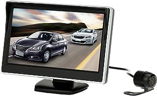 SAIYUAN 5 Inch TFT LCD Display Monitor Car Rear View Backup Reverse System + HD Parking Camera