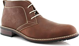 Ferro Aldo Devon MFA506008 Mens Casual Chukka Mid-Top Lace-Up Dress Boots