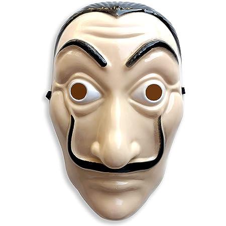 Masque de la maison de Papel maison de papier Salvador Daldi en plastique