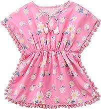 Toddler Baby Girls Swim Cover-up Beach Sundress Summer Poncho