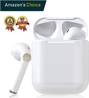 comprar comparacion Auriculares Bluetooth 5.0 Auricular Inalámbrico Control Táctil con Graves Profundos In-Ear Auriculares Bluetooth con Caja ...