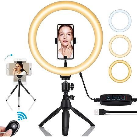 Ringlicht Mit Stativ Oowolf Led Ringlicht Selfie Kamera