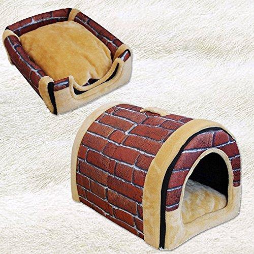 Casa cálida para mascotas – acogedora casa portátil 2 en