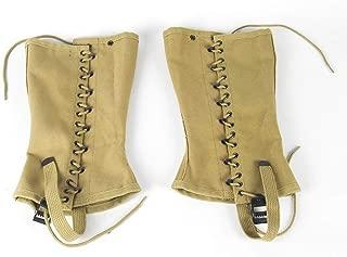 Oleader Replica WW2 U.S. M1936 Dismounted Leggings, Canvas Gaiters
