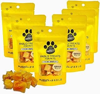 PABLO パブロ 国産 焼き芋 キューブ 無添加 小麦粉不使用 犬用 おやつ セット (30g×6袋)