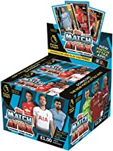 2018/2019 Topps Match Attax ENGLISH PREMIER LEAGUE Match Attax Soccer Cards Box. 50 7-Card Packs (350 Cards). USA SELLER! Loaded With Stars.