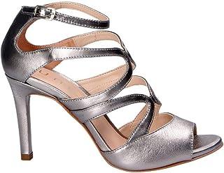 UNISA Women's WENCESILVER Silver Leather Heels