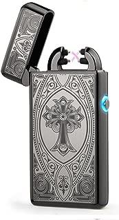Arc Lighter Electric Dual Plasma Lighter-Black Card