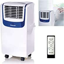 Honeywell Compact Portable Air Conditioner with Dehumidifier and Fan for Rooms Up to 350 Sq. Ft. in White/Blue, 250