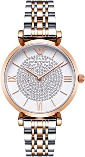Latest Gypsophila Round Quartz Women's Watch Steel Strap