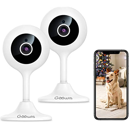 Omnidirection for Baby//Pet//Nanny//Elderly 2 Packs 2-Way Audio Works with Alexa /& Google Home Teckin Cam 1080P FHD Indoor Wi-Fi Smart Home Security Camera with Night Vision Motion Detection