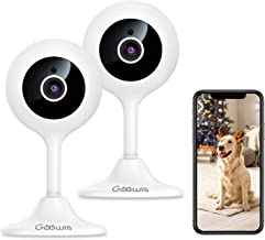 Security Camera Indoor, Goowls 2-Pack 1080p HD 2.4GHz...