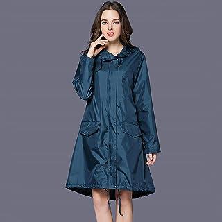 Ponchos for women Windbreaker Poncho Women's Long Raincoat Jacket Anti-storm Rainwear Walking Adult One-piece Raincoat