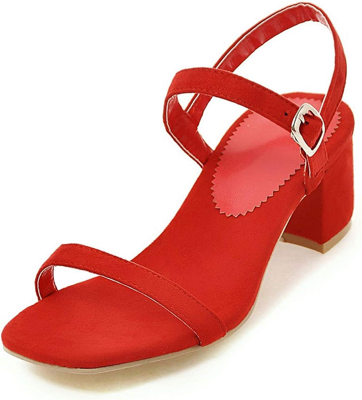 Small Basketball Ankle Strap Heels Women Sandals Summer shoes Women Open Toe Thick High Heels Dress Sandals