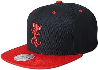 Black Red IMP Snapback Hat Streetwear Style Fashion (Quality Headwear)