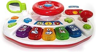 ISO TRADE Simulatore Giocattolo Volante Bambino Educazione Melodia Semaforo 7465 Sport e giochi all'aperto