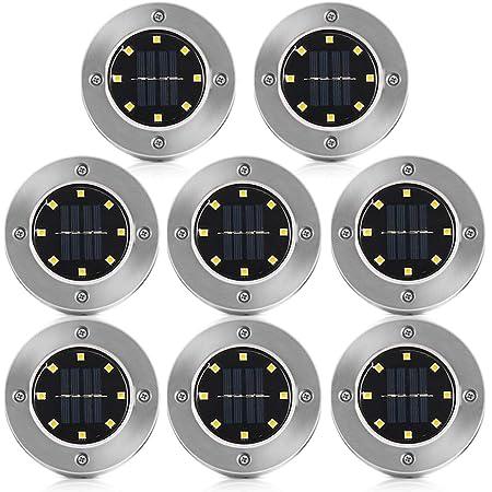 4//8//16 LED Solarlampe Garten beleuchtung LED Solar Gartenleuchte Bodenstrahler