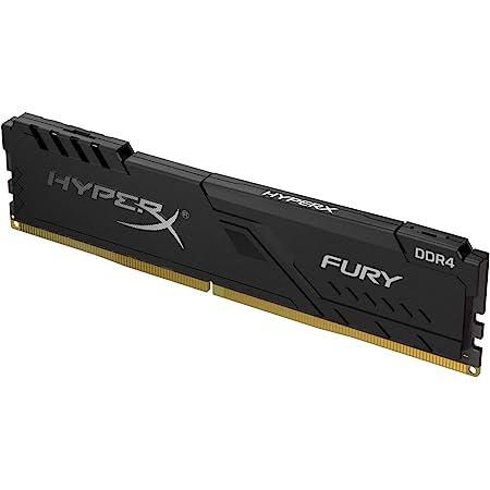 HyperX FURY Black HX426C16FB3/4 4GB Memoria RAM 2666MHz DDR4 CL16 DIMM