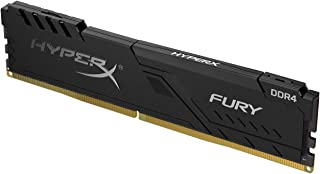 HyperX Fury 8GB 2666MHz DDR4 CL16 DIMM 1Rx8  Black XMP Desktop Memory Single Stick - Model HX426C16FB3/8