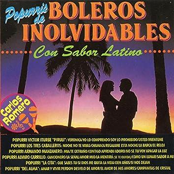 Popurris de Boleros Inolvidables Con Sabor Latino