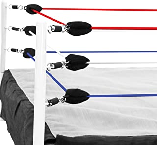 Red, White & Blue Ring Ropes for Wrestling Action Figure Ring by Figures Toy Company