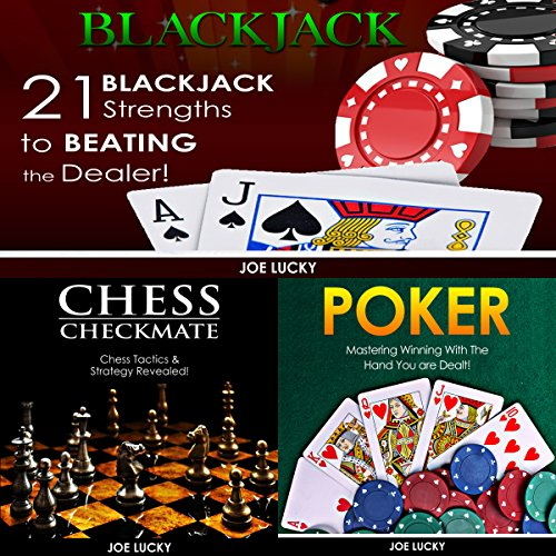 Blackjack & Chess Checkmate & Poker  By  cover art