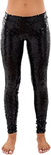 Best black sequin dance pants Reviews